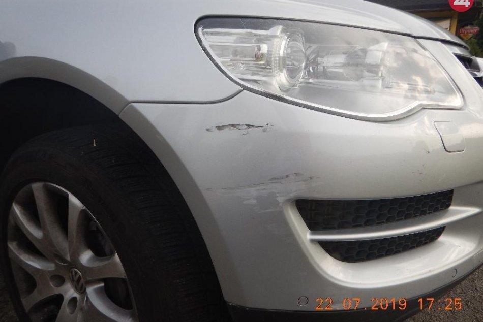 Opitý cyklista spôsobil nehodu pri Podbrezovej