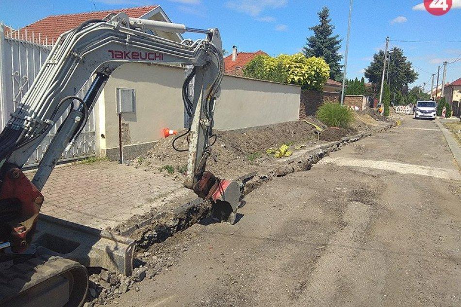 Rekonštrukcia Mederskej ulice v Nových Zámkoch