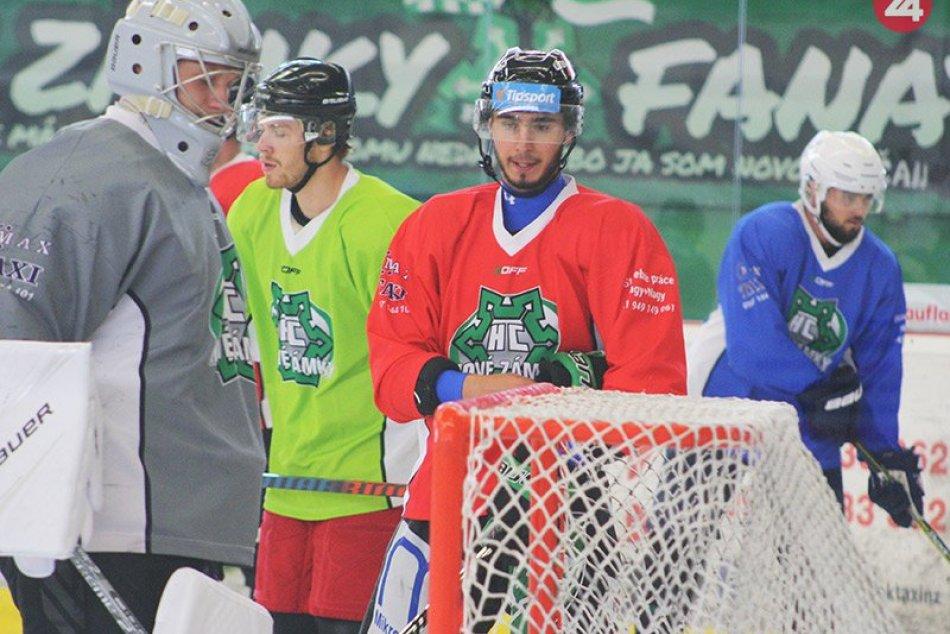 Hokejisti Nových Zámkov začali prípravu na ľade pred sezónou 2019/2020