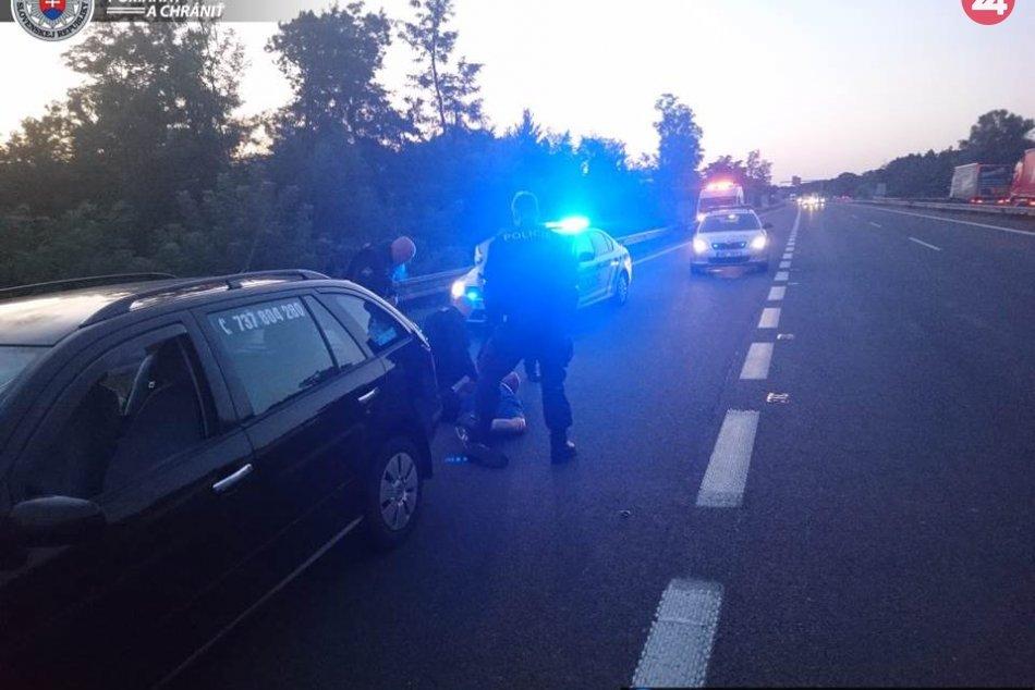 Polícia vystrelila na muža z ČR podozrivého z lúpeže