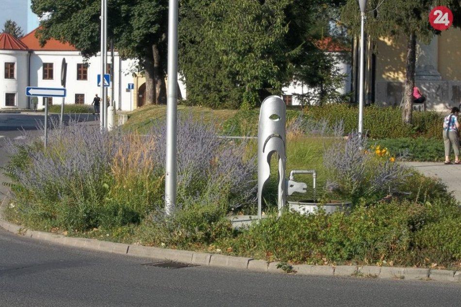 Šaľa sa o zeleň stará: Horúčavy s automatickou závlahou, FOTO