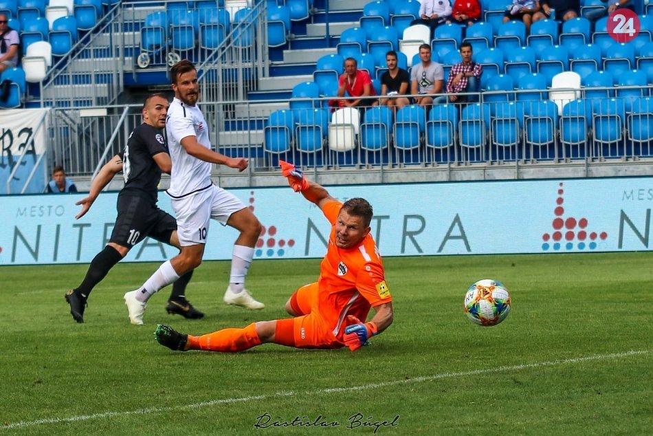 FC Nitra - FC ViOn Z. Moravce 0:1