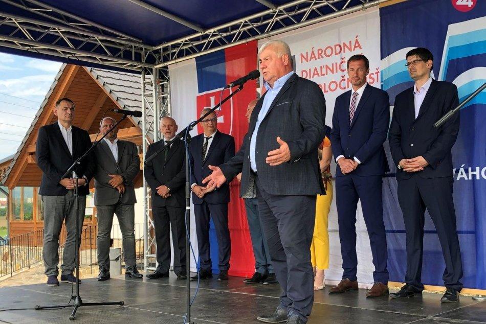 Deň D je tu: Základný kameň obchvatu Prešova už poklepali, FOTO