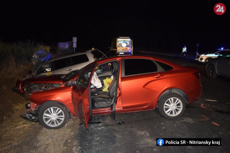 Vážna nehoda pri Topoľčanoch