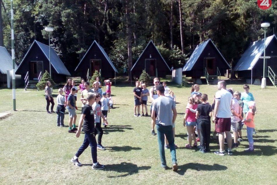 Ale im bolo: Deti z nášho mesta a okolia si užili tábor v prekrásnej prírode