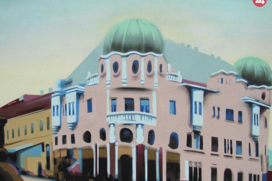 Nová maľba pod holým nebom: Na Okružnej v Prešove pribudla aj tento rok