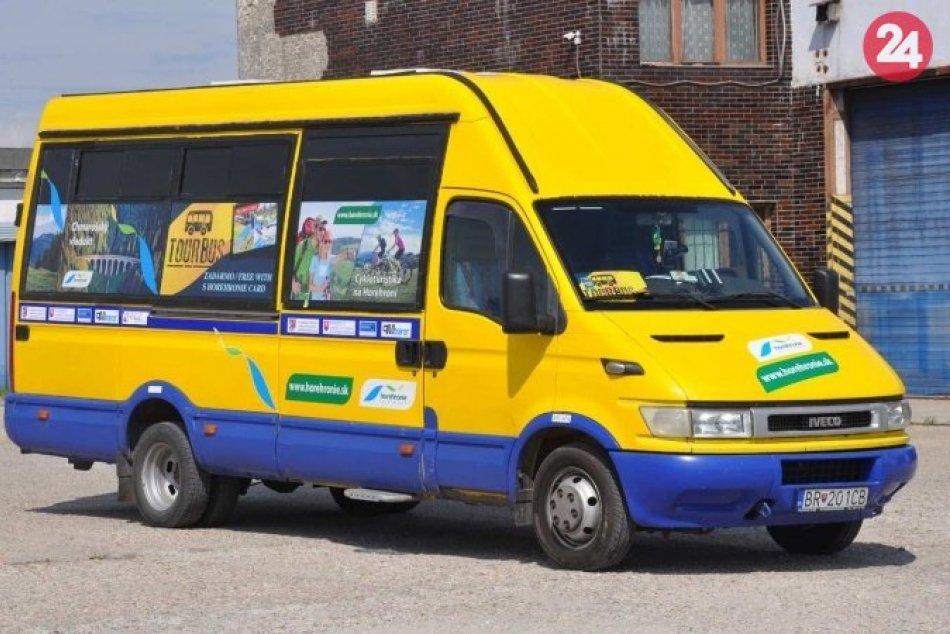 Ekologická doprava na Horehroní zadarmo