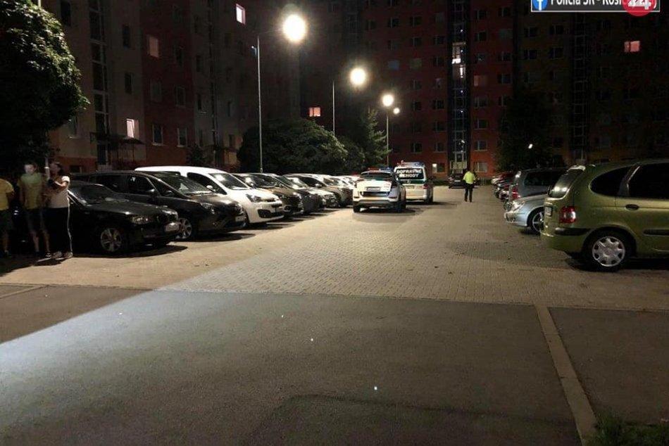 Opitý šofér nabúral na jednom z parkovísk v Spišskej Novej Vsi