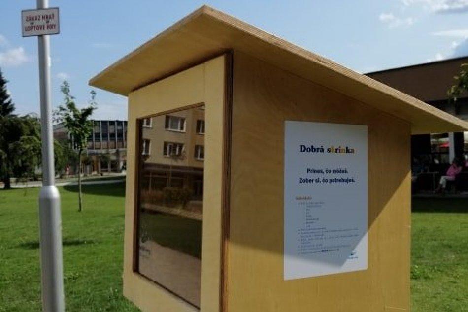 FOTO: V uliciach Žiaru pribudli dobré skrinky