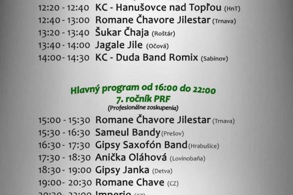 V Prešove bude 7. ročník Rómskeho festivalu: Prinášame vám jeho program