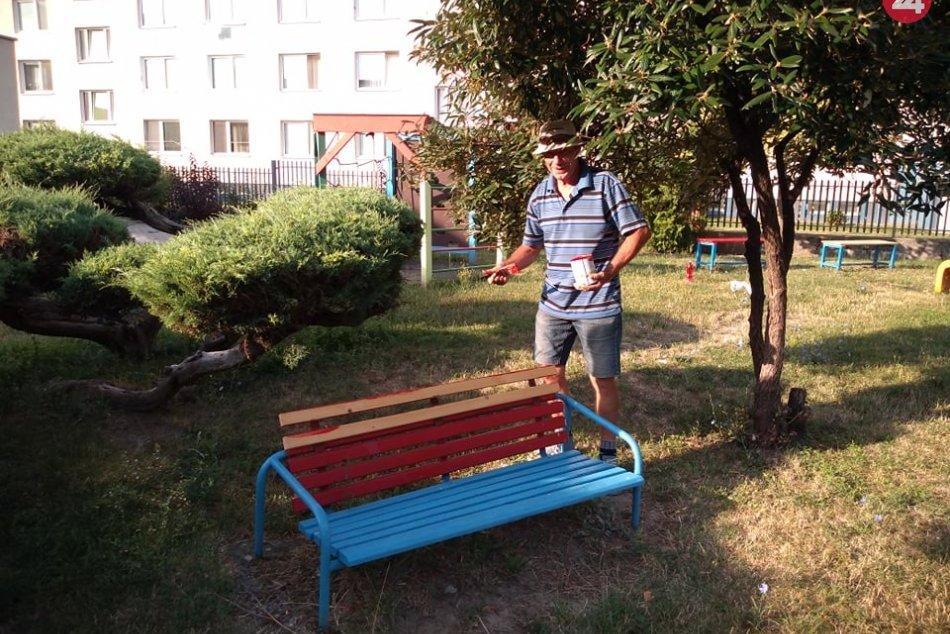Šalianska škôlka žiari: Ruku k dielu priložil aj pomocník Dezider, FOTO