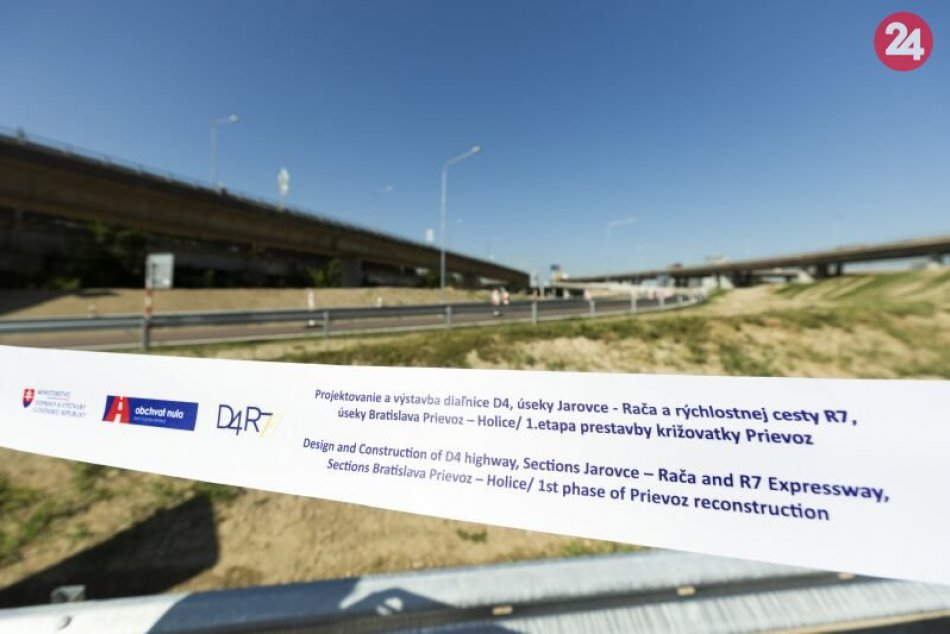 D4R7: Nové zjazdy z diaľnice D1 na Slovnaftskú