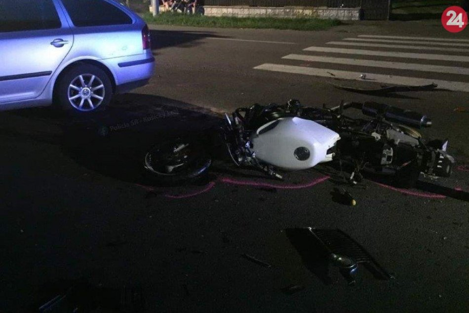 Neďaleko Michaloviec sa stala dopravná nehoda: FOTKY z miesta