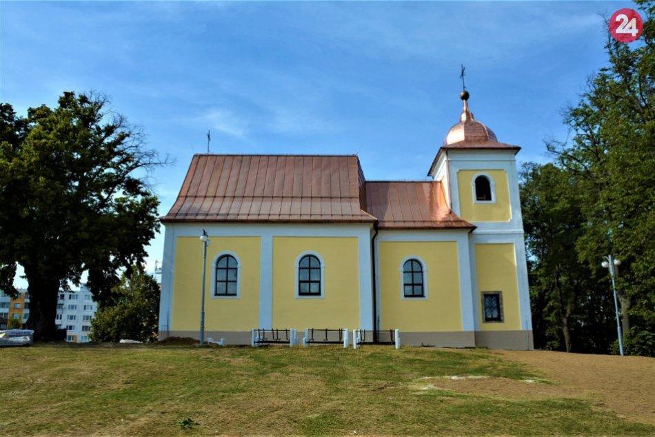 Kaplnka sv. Heleny zrekonštruovaná po požiari, znovu sa má otvoriť na HHS