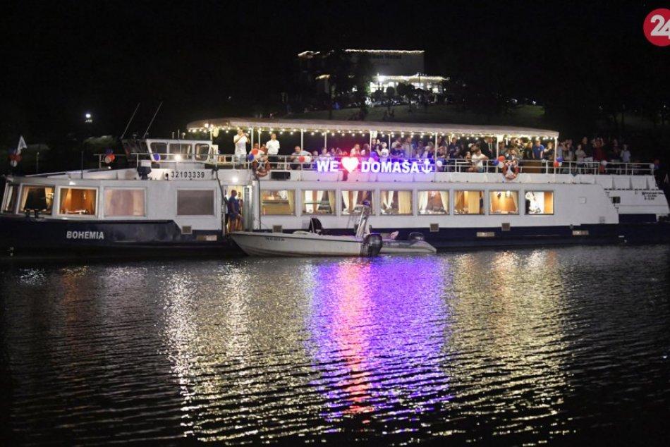 Na Domaši slávnostne požehnali výletnú loď: Pozrite si to na fotkách