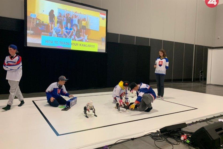 Žiaci Gymnázia Nové Zámky na Majstrovstvách sveta v robotike