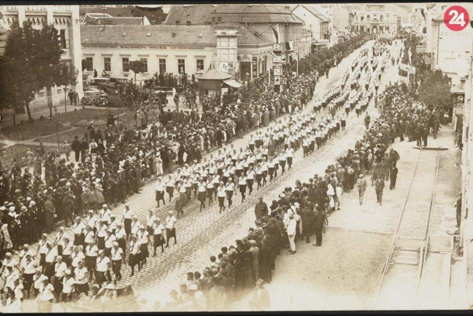Pribinove slávnosti v Nitre, rok 1933