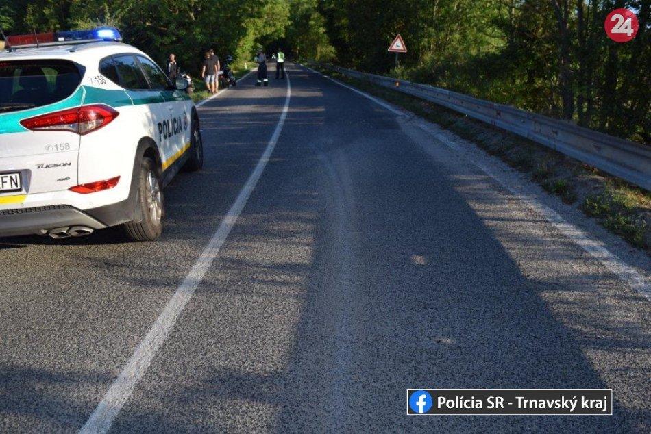 Počas víkendu sa stali v Trnavskom kraji štyri havárie motocyklistov