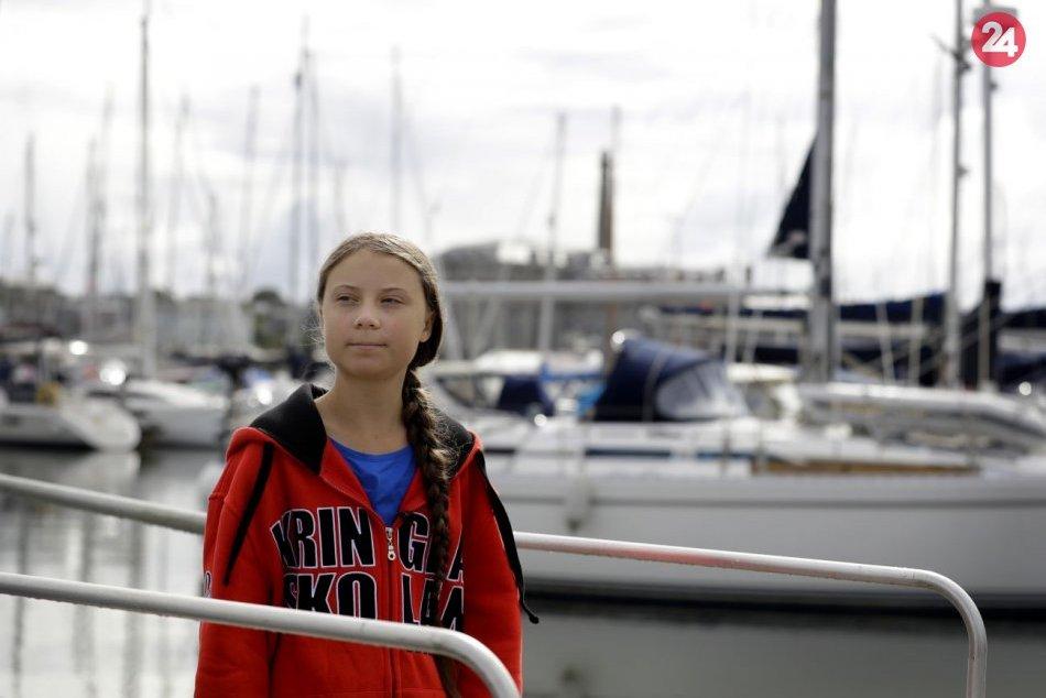 Švédska aktivistka Thunbergová pocestuje do USA na jachte bez spŕch či toalety