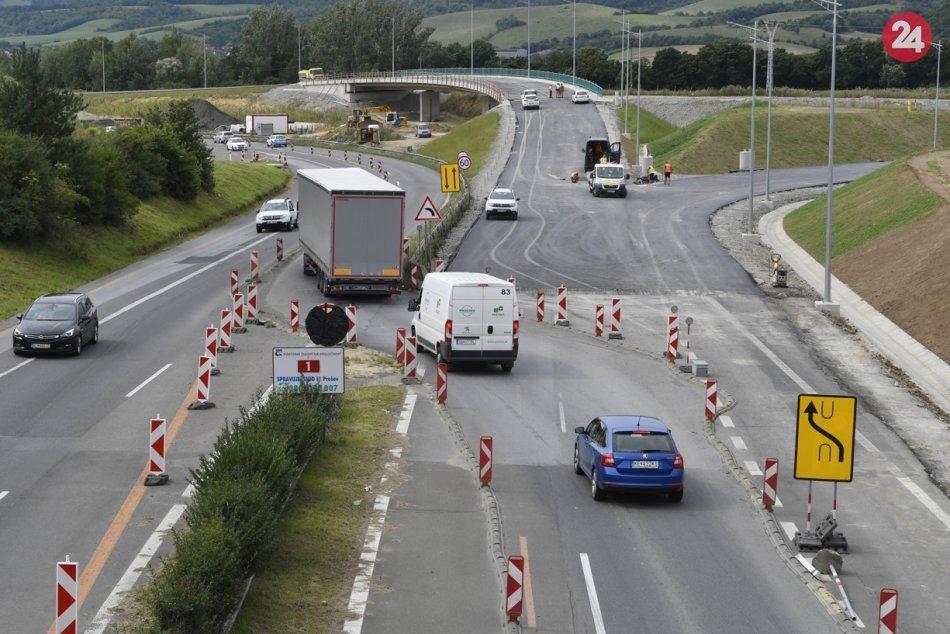 Križovatka juh pri výjazde z Prešova na Košice: Výstavba zachytená v OBRAZOCH