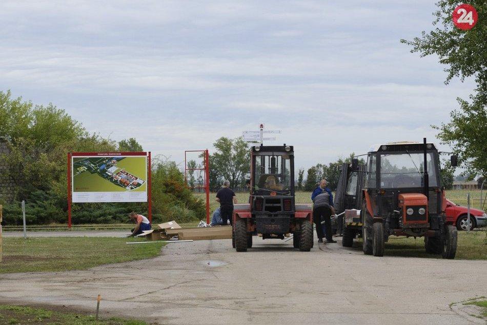 Na nitrianskom výstavisku je rušno: Prípravy na Agrokomplex sú v plnom prúde, FO
