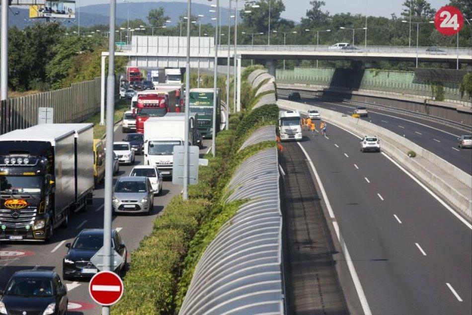 NDS opravuje D1 medzi Mostom Lafranconi a Prístavným mostom