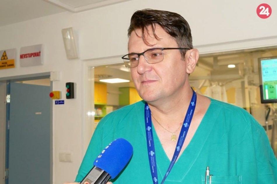 Martinským lekárom sa podarila unikátna operácia