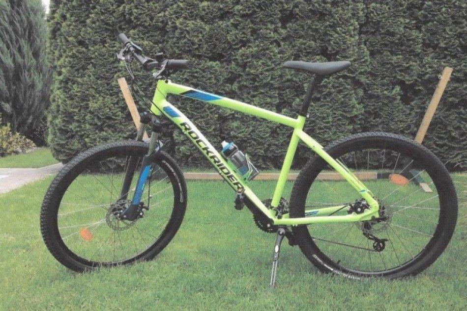 Ukradnutý bicykel v Hlohovci