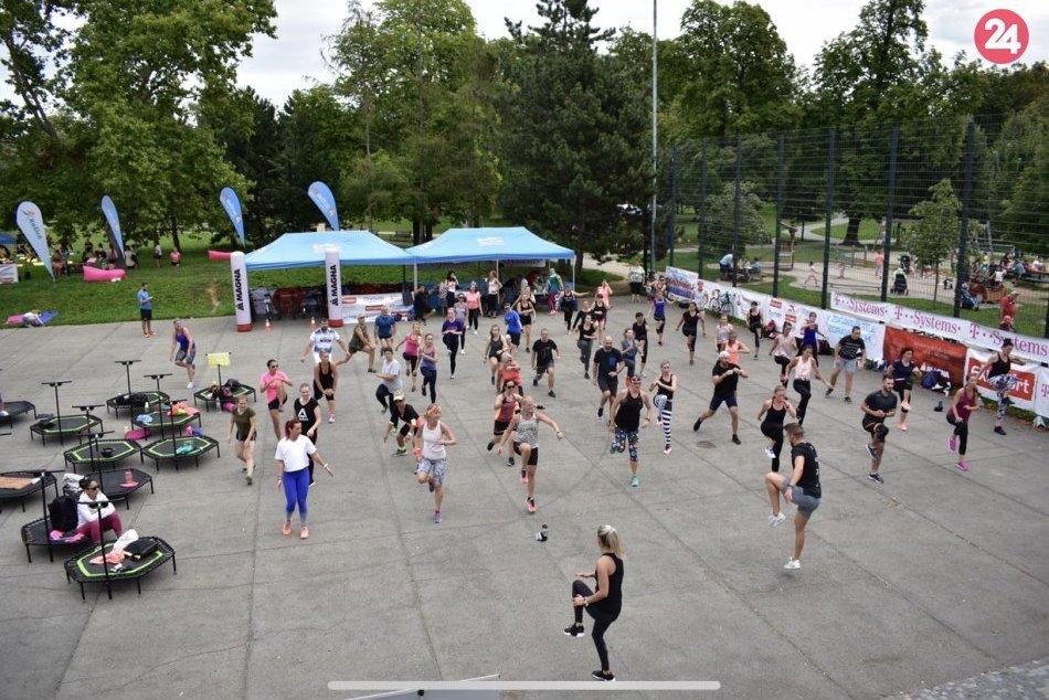V OBRAZOCH: Športová nedeľa v parku