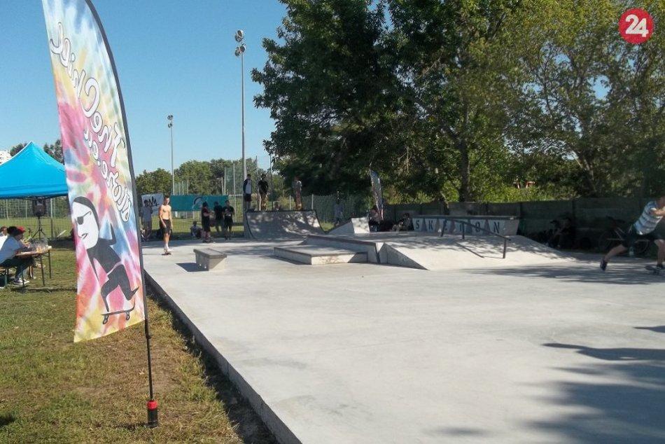 FOTO, Skate Park v Šali: Slovenskí skejtisti predviedli kúsky
