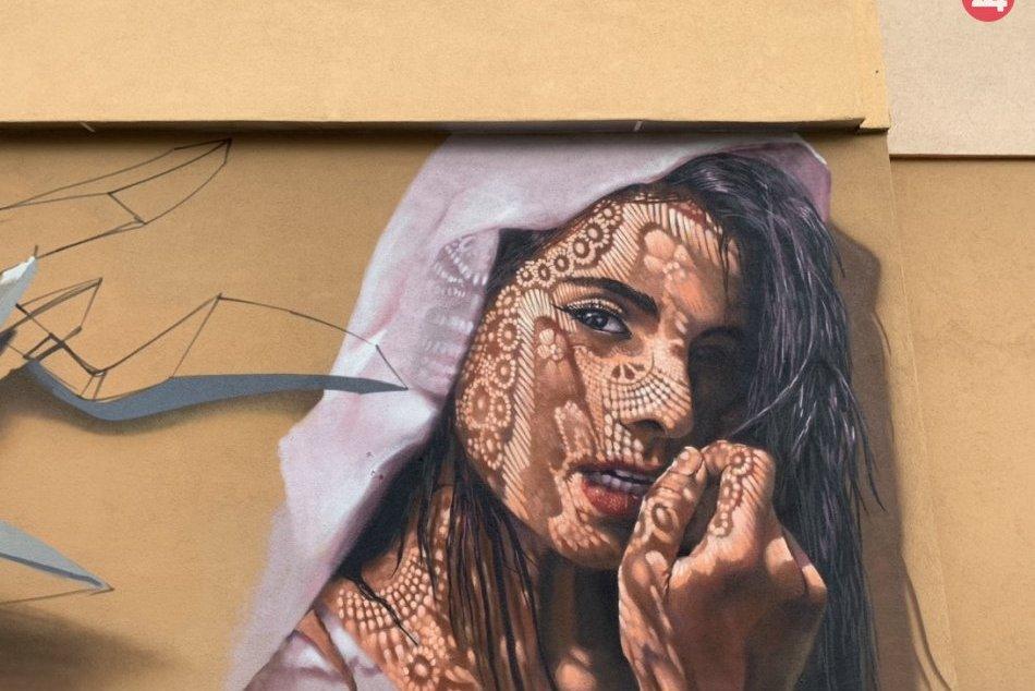 V OBRAZOCH: Umelecké dielo na Buzulúckej ulici