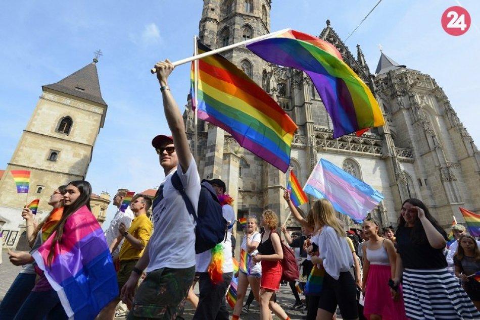 Pochod Pride v Košiciach 24. august 2019