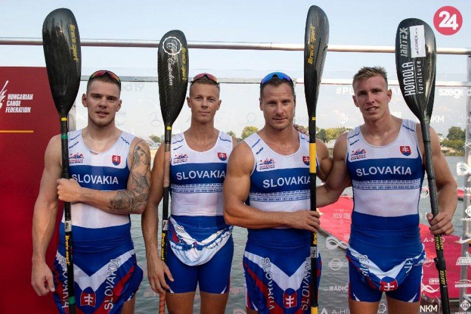 Slovenská K4 s bronzom z MS: Zaistila si aj miestenku na Olympijské hry