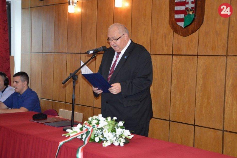 Šalianskeho primátora ocenili: Jozef Belický čestným občanom, FOTO