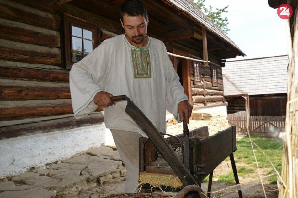 Dožinky v Múzeu slovenskej dediny v Martine