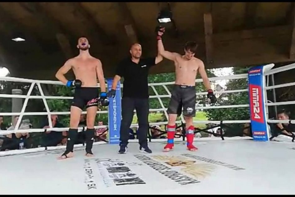 V OBRAZOCH: Úspech bystrického bojovníka MMA Samuela Trvalca