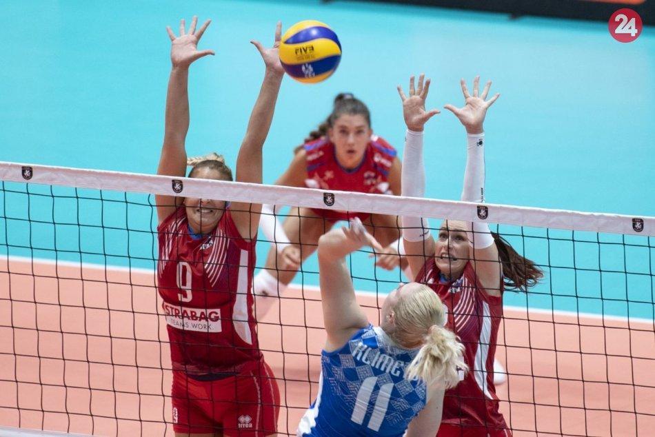 Volejbalové ME: Slovensko – Bielorusko 3:2
