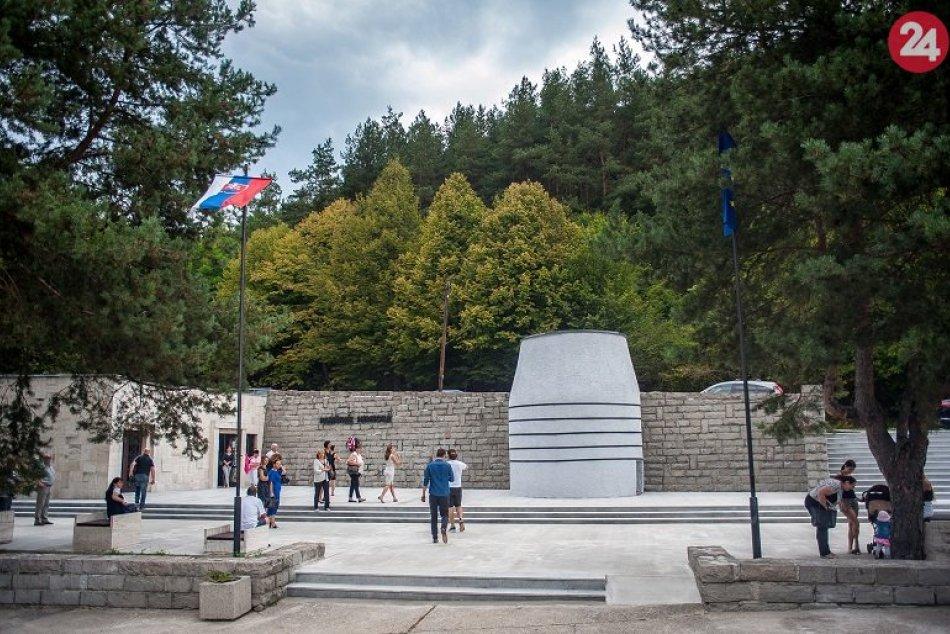 Zrekonštruovaný Pamätník umučeným v Nemeckej