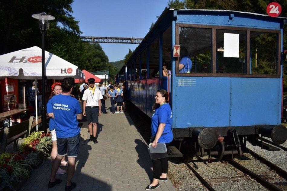 V OBRAZOCH: Oslavy vzniku Detskej železnice