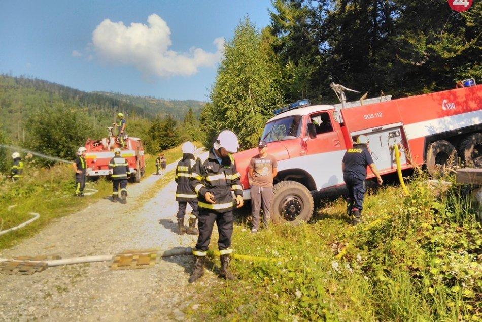 Obrazom: Okresné taktické cvičenie Dobrovoľných hasičských zborov
