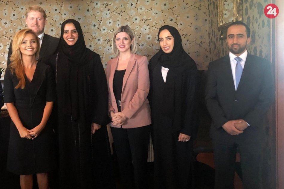 Aisha Butti Bin Bishr navštívila Slovensko