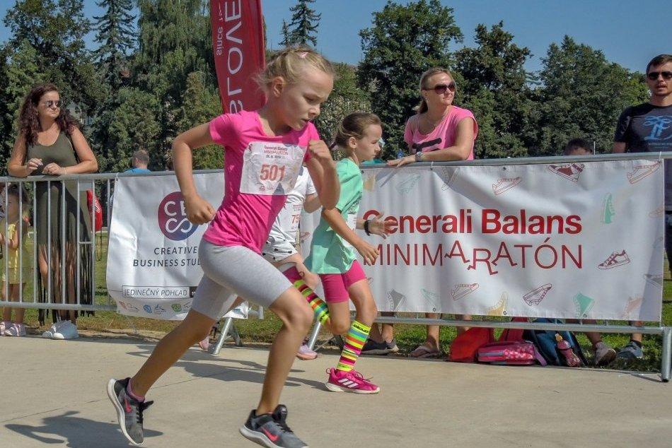 V OBRAZOCH: Generali Balans Minimaratón 2019