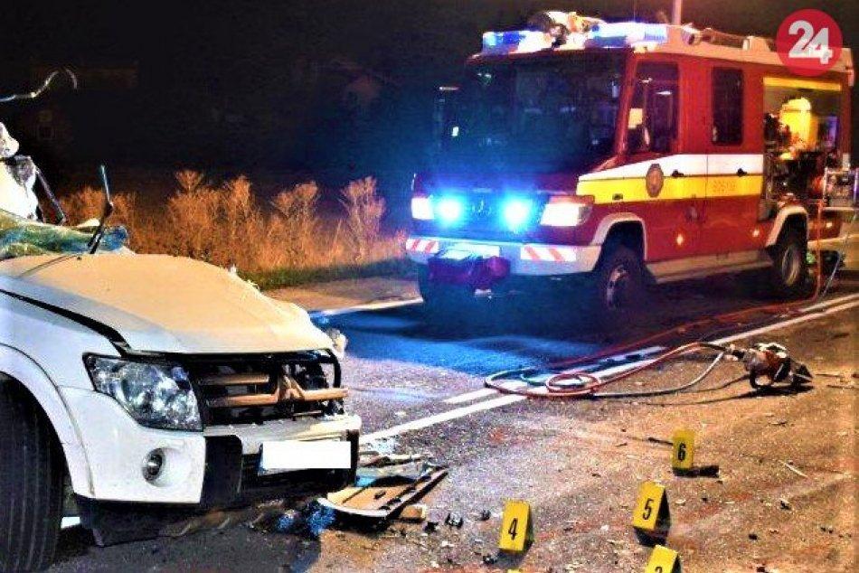 FOTO z miesta tragickej nehody v Trenčianskom okrese