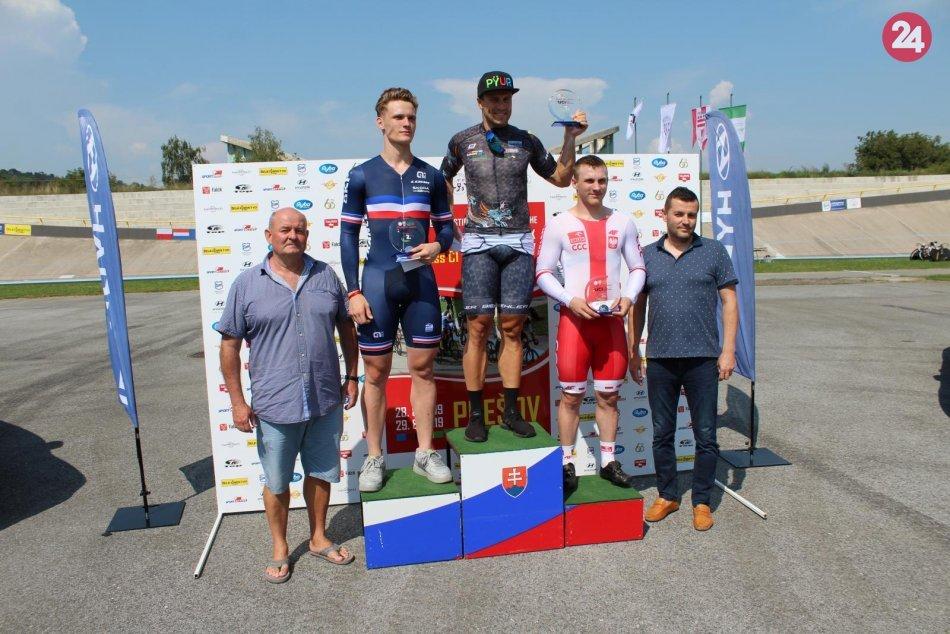 Velodróm v Prešove hostil významné preteky: Ovládli ich Dáni