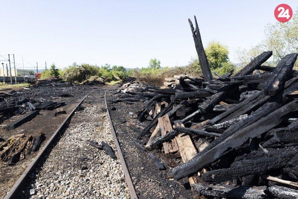 Požiar na stanici Bratislava - Východné