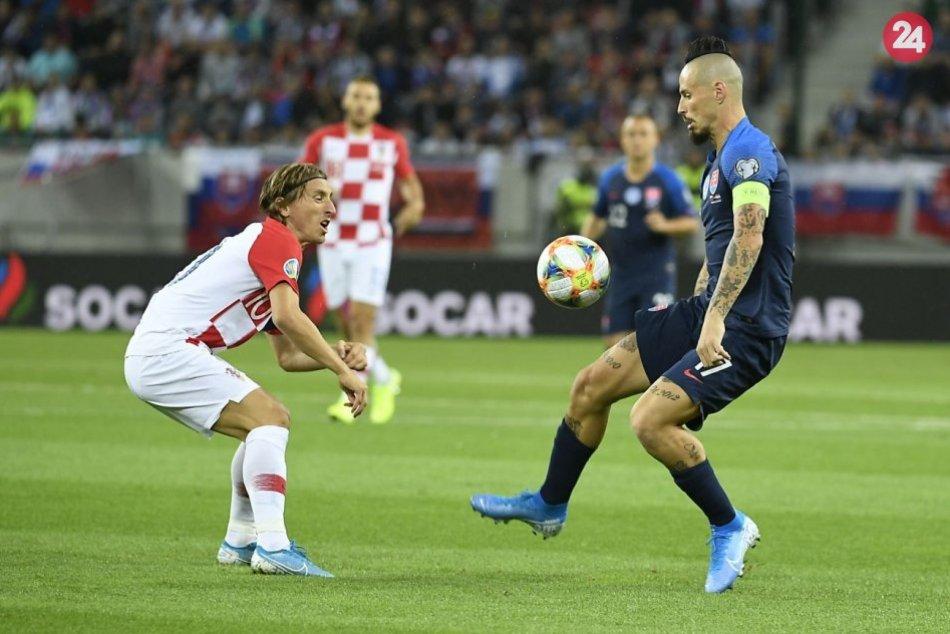 Slovensko – Chorvátsko 0:4 (0:1)