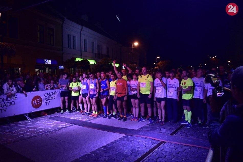 V OBRAZOCH: Košice Night Run 2019