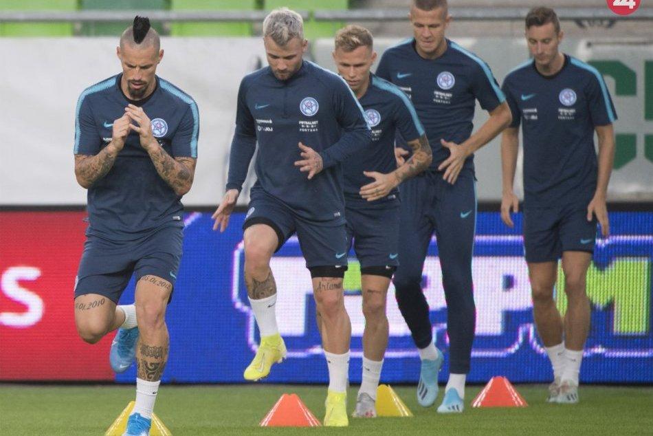 Príprava futbalovej reprezentácie pred zápasom s Maďarskom