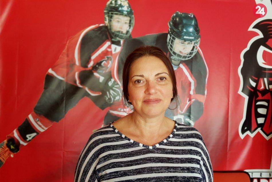 Adriana Hosťovecká: Prezidentka HK Gladiators Trnava