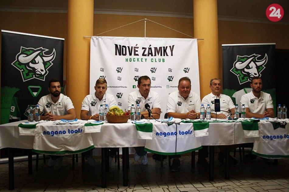 Hokejisti Nových Zámkov vstupujú do sezóny 2019/2020 s novým logom